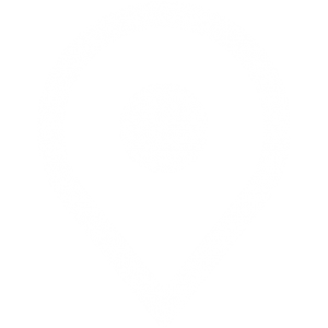 Kartnål - Vit
